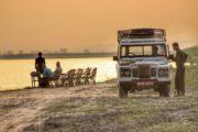 Sunset and Jeep Safari at Chitwan National Park