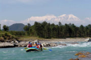Rafting in Seti River Nepal