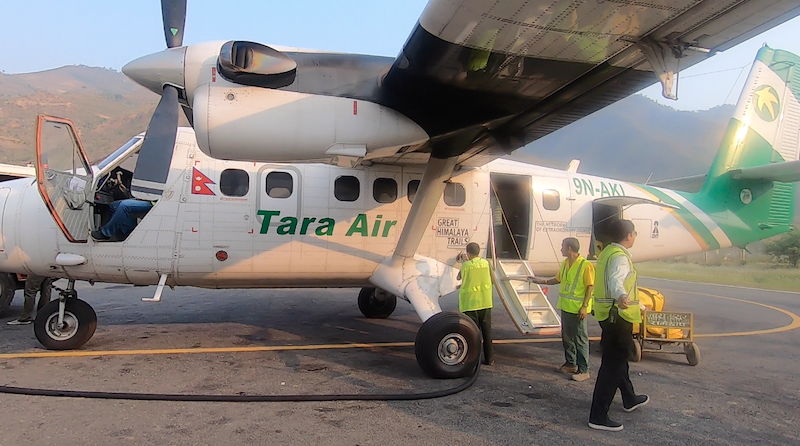 Tara Air at Ramechhap Airport