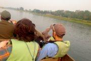 Canoeing Through Rapti River