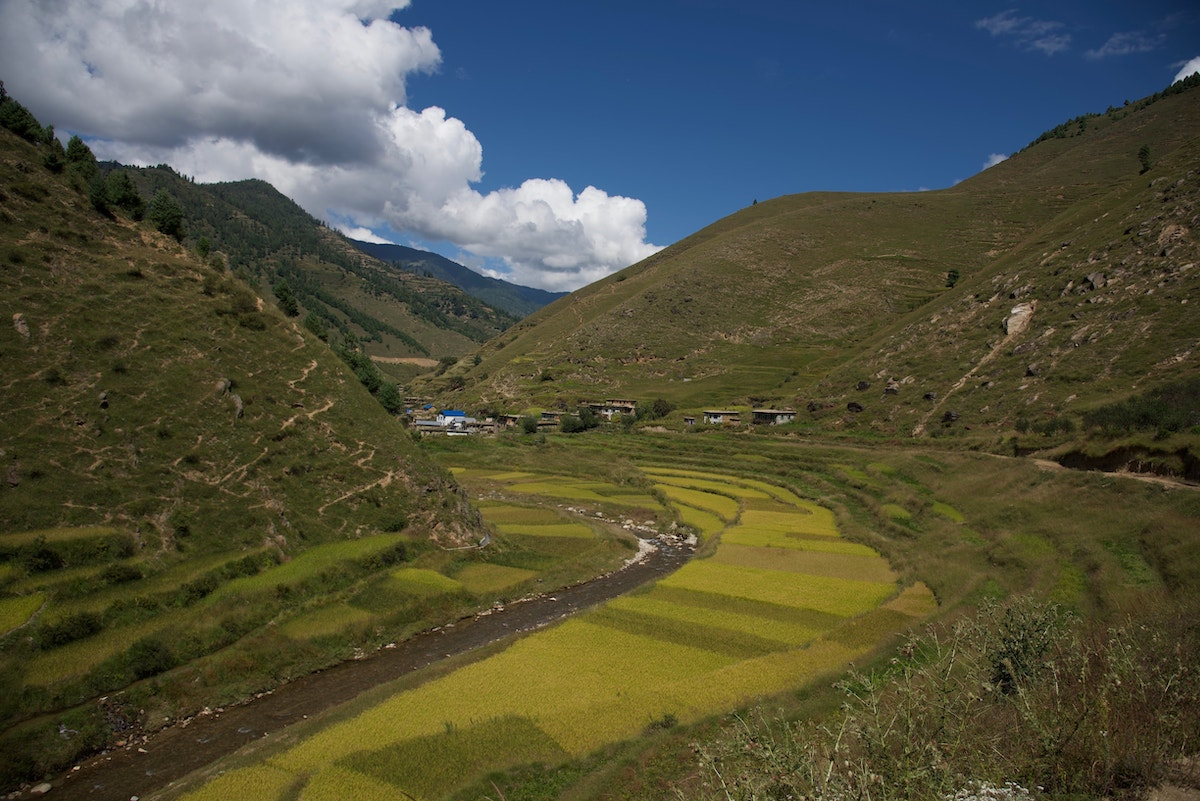 Green Valley in Nepal
